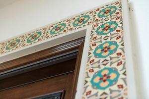 Tile Door Detail