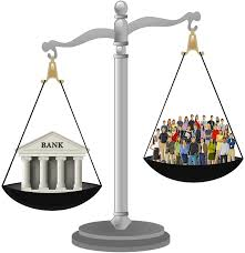 Bank vs people